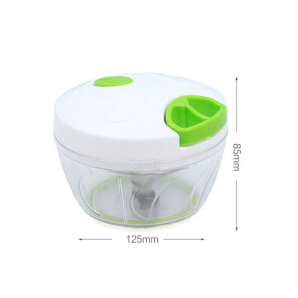 [variant_title] - Mini Hand Manual Meat Grinder Mini Chopper Design Pull the Rope Garlic Cutter Vegetable Fruit Twist Shredder Kitchen Tools