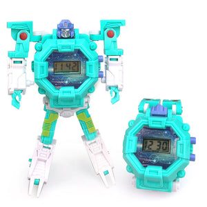 1 - Waterproof Robot Children Watch Toys for Children Birthday Christmas Gift Boys Watches