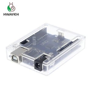 UNO R3 With BOX - HWAYEH high quality One set UNO R3 CH340G+MEGA328P Chip 16Mhz For Arduino UNO R3 Development board + USB CABLE
