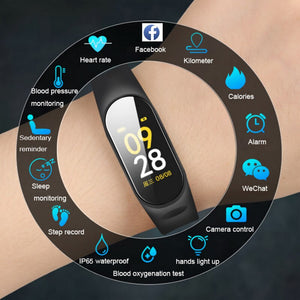 [variant_title] - 2019 Smart Watch Men Women Heart Rate Monitor Blood Pressure Fitness Tracker Smartwatch Sport Smart Clock Watch For IOS Android