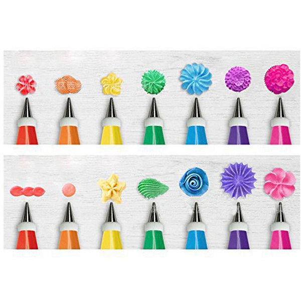 [variant_title] - 48Pcs/set Cake Decorating Good Quality Stainless steel Icing Piping Nozzles Pastry Tips Set Cake Baking Tools Accessories