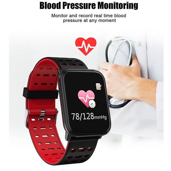 [variant_title] - BINSSAW  T6 New Smart Watch Men Women Heart Rate Monitor Blood Pressure Fitness Tracker Smartwatch Sport Watch for ios android