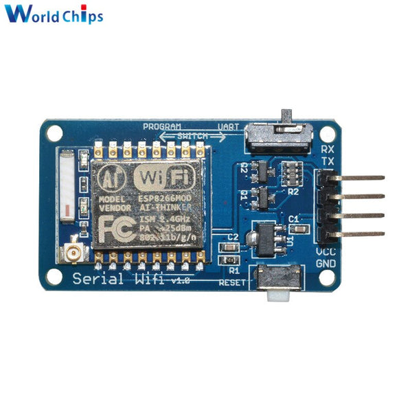 [variant_title] - ESP8266 ESP-07 ESP07 Wifi Serial Transceiver Wireless Board Module 3.3V 5V 8N1 TTL UART Port Controller For Arduino UNO R3 One
