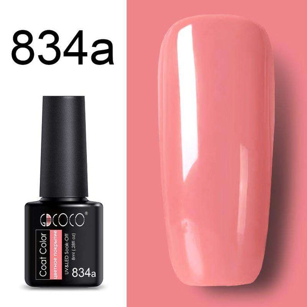 834a - #86102 GDCOCO 2019 New Arrival Primer Gel Varnish Soak Off UV LED Gel Nail Polish Base Coat No Wipe Top Color Gel Polish