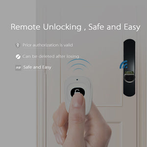 Default Title - We Lock Cylinder Keyless Smart biometric App fingerprint door lock home security electronic digital door lock for home office