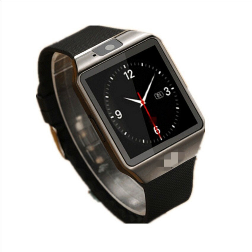 Black - DZ09 New Smartwatch Intelligent Digital Sport Gold Smart Watch DZ09 Pedometer For Phone Android Wrist Watch Men Women's  Watch