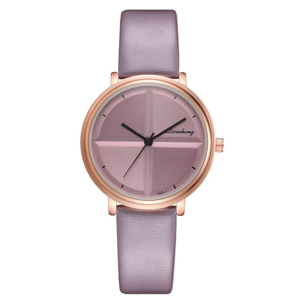Purple - Exquisite Simple Style Women Watches Small Fashion Quartz Ladies Watch Drop shipping Top Brand Elegant Girl Bracelet Watch