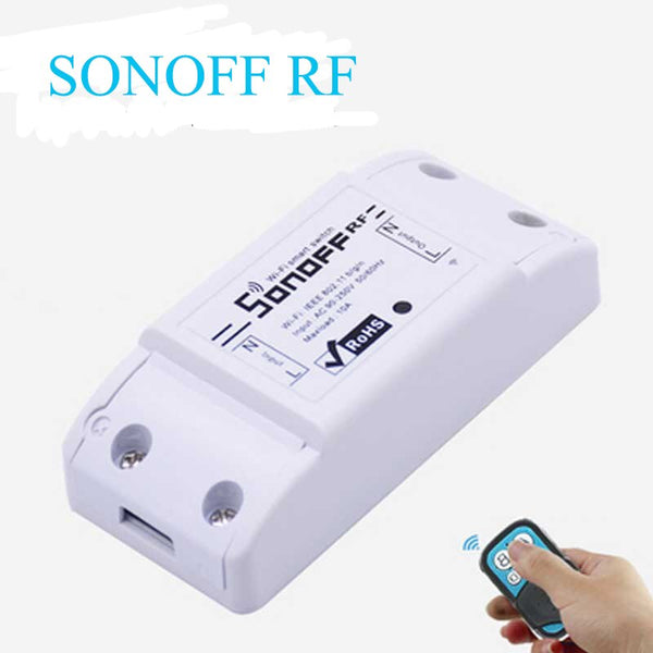 [variant_title] - Itead Sonoff 433Mhz RF-WiFi Wireless Smart Remote Switch,Common Home Modification DIY Parts with 433Mhz RF Receiver Control