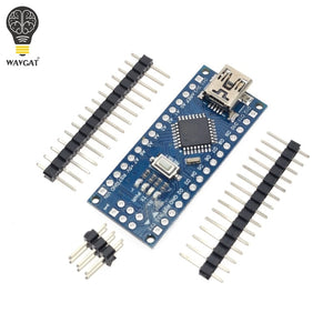 Default Title - 1PCS Promotion Funduino Nano 3.0 Atmega328 Controller Compatible Board for Arduino Module PCB Development Board without USB