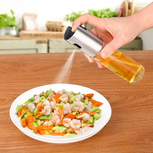 Default Title - Stainless Steel Oil Bottle Glass Oiler Barbecue Spray Bottle Kitchen Gadgets Cooking Accessories Tools Kitchenware Cozinha Inox