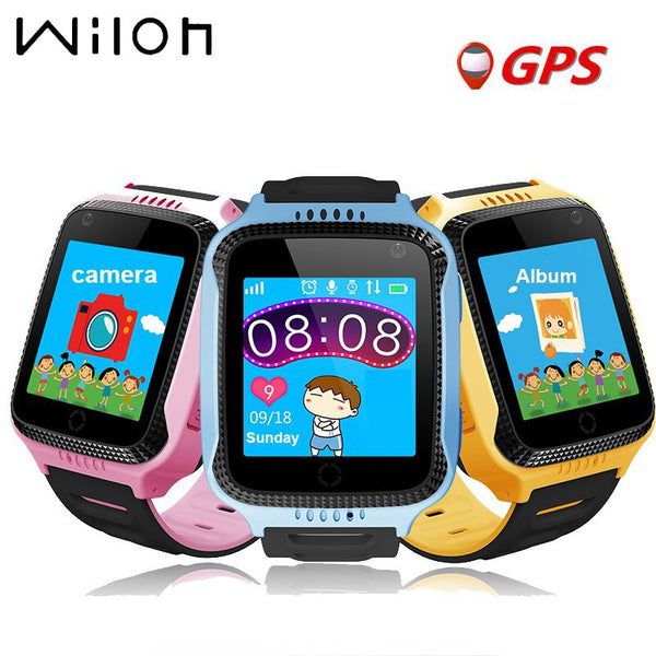 [variant_title] - GPS tracker kids watch Camera Flashlight touch Screen SOS Call Location Baby clock Children Smart watches Q528 Y21 2G SIM card
