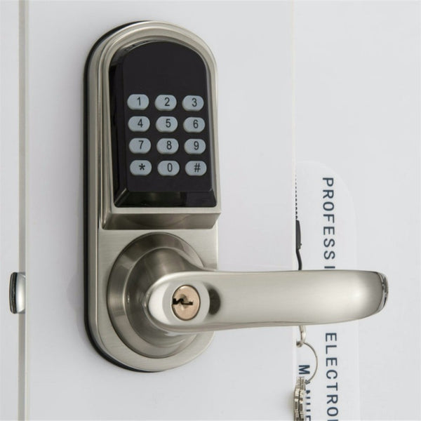 [variant_title] - Smartphone Bluetooth Entrance Smart Locks with Combination OS8015BLE Stain Chrome