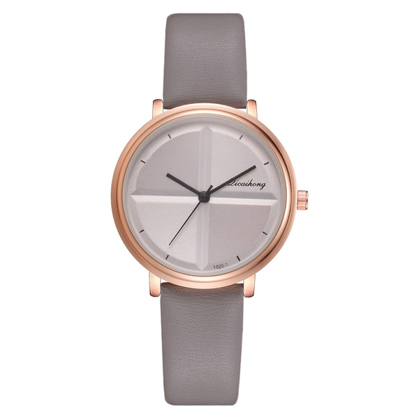 Grey - Exquisite Simple Style Women Watches Small Fashion Quartz Ladies Watch Drop shipping Top Brand Elegant Girl Bracelet Watch