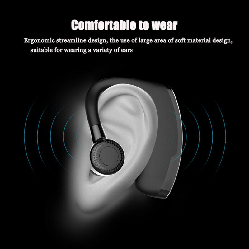 Daono V9 Handsfree Business Bluetooth Headphone With Mic Voice Control Wireless Bluetooth Headset For Drive Noise Cancelling Default Title 3 749 85 Daono V9 Handsfree Business Bluetooth Headphone With Mic Voice Control Wireless Bluetooth