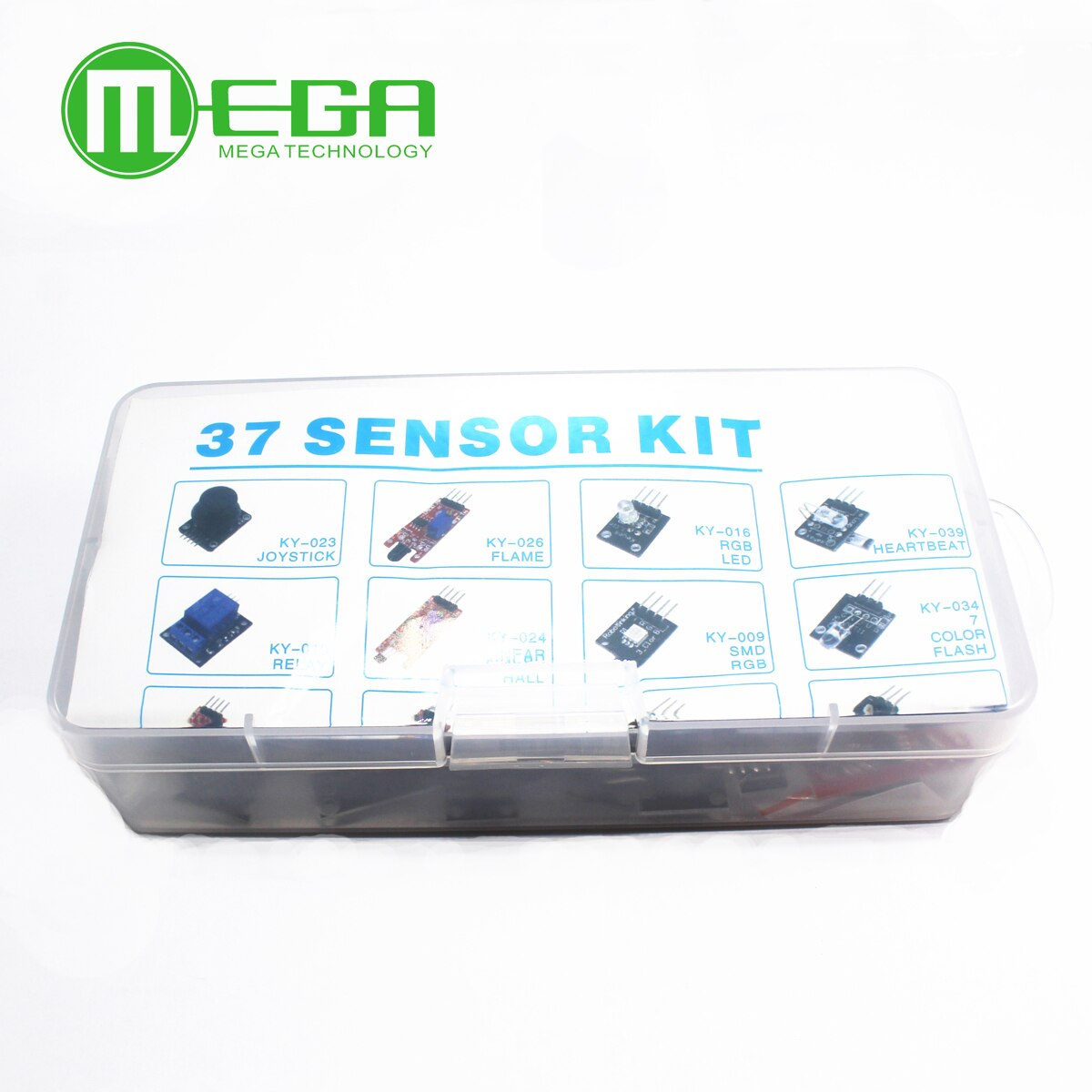 Default Title - 37 IN 1 BOX SENSOR KITS FOR ARDUINO Diy kit