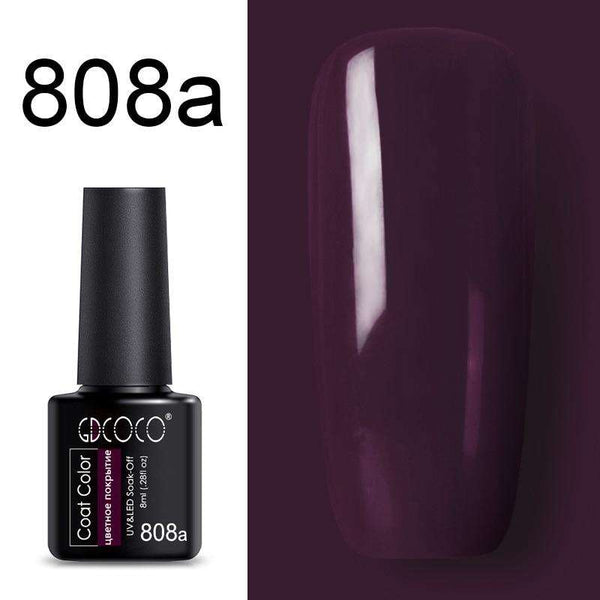 808a - #86102 GDCOCO 2019 New Arrival Primer Gel Varnish Soak Off UV LED Gel Nail Polish Base Coat No Wipe Top Color Gel Polish