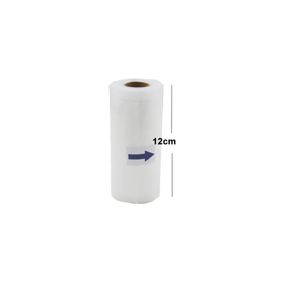 12cm1pcs - 5 Rolls/Lot Kitchen Food Vacuum Bag Storage Bags For Vacuum Sealer Vacuum Packaging Rolls 12/15/20/25/28cm*500cm