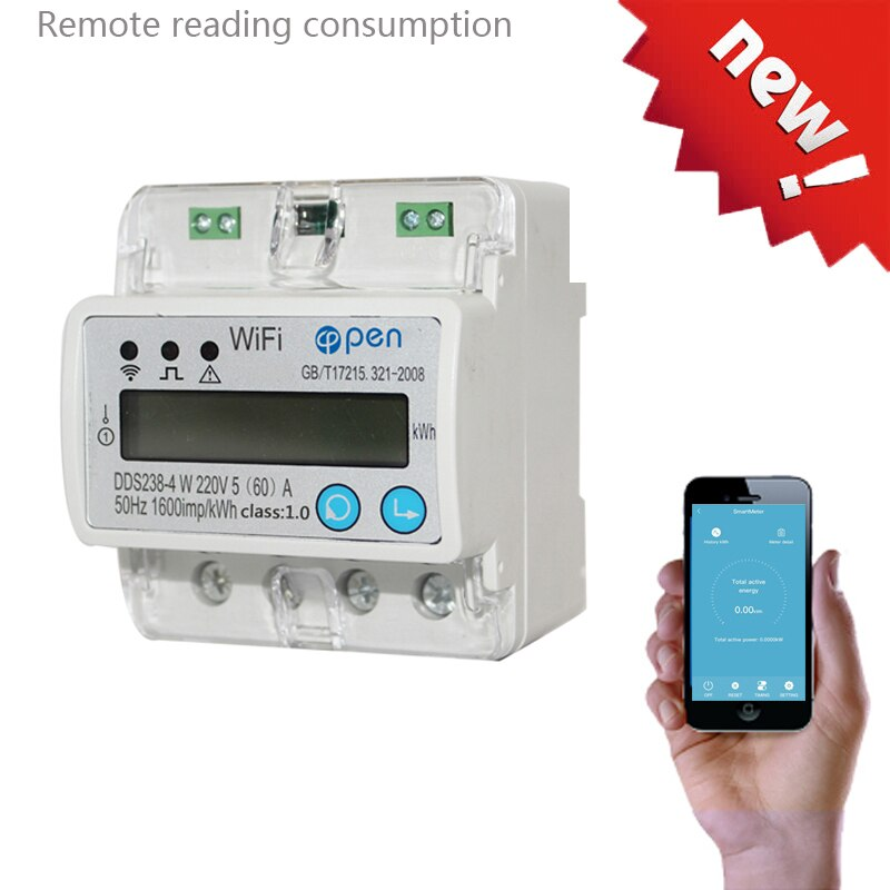 [variant_title] - WIFI  remote control Smart Switch with energy monitoring over/under voltage protection for Smart home
