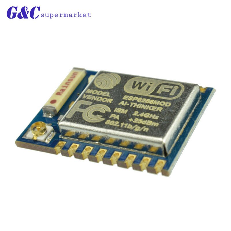 ESP-07 - ESP8266 ESP-07 ESP-12E ESP12E ESP8266 Remote Serial Port WIFI Wireless Module 3.3V SPI for Arduino New Version