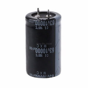 Default Title - 63V 10000UF Long Life High-frequency Electrolytic Capacitor Durable Capacitors