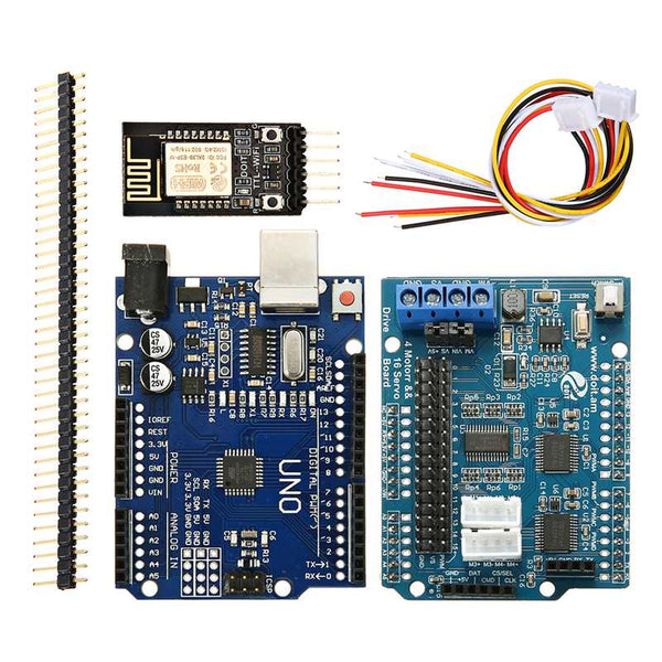 Wifi Type - WiFi bluetooth Handle DIY Remote Control Smart Car Module Kit For Arduino Motor Servo Drive Arm