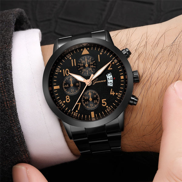 [variant_title] - Relojes Hombre Watch Men Fashion Sport Quartz Clock Mens Watches Top Brand Luxury Business Waterproof Watch Relogio Masculino