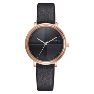 Black - Exquisite Simple Style Women Watches Small Fashion Quartz Ladies Watch Drop shipping Top Brand Elegant Girl Bracelet Watch