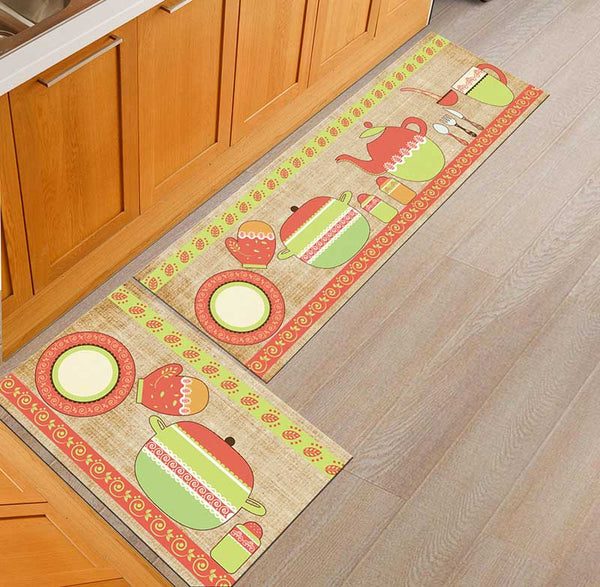 14 / 50x160cm - Kitchen Mat Cheaper Anti-slip Modern Area Rugs Living Room Balcony Bathroom Printed Carpet Doormat Hallway Geometric Bath Mat