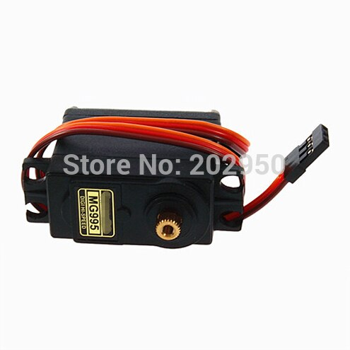 [variant_title] - 2pcs MG995 Servo High Speed Digital Metal Gear Ball Bearing Torque 12kg Servo Motor MG995 For RC Car Robot Servos Arduino UNO