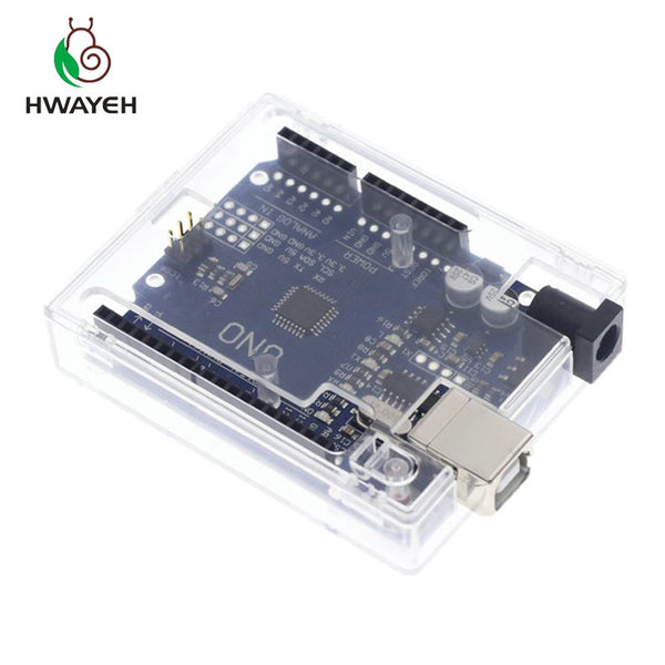 [variant_title] - HWAYEH high quality One set UNO R3 CH340G+MEGA328P Chip 16Mhz For Arduino UNO R3 Development board + USB CABLE