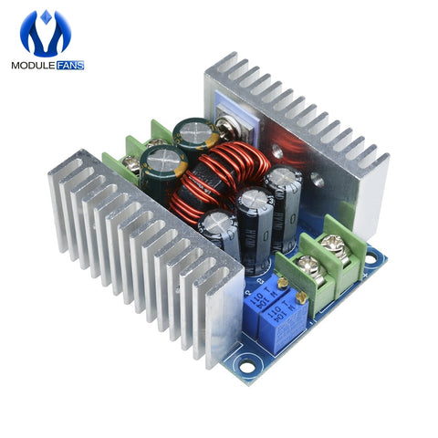 Default Title - 300W 20A DC-DC Buck Converter Step Down Module Constant Current LED Driver Power Step Down Voltage Module Electrolytic Capacitor