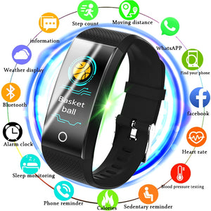 [variant_title] - BANGWEI Fitness Smart Watch Men Women Pedometer Heart Rate Monitor Waterproof IP67  Running Sport Watch For Android IOS