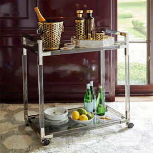 [variant_title] - The transparent Design of Yakley Bar cart in Modern Hot selling Fashion Hotel