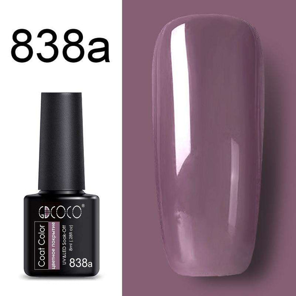 838a - #86102 GDCOCO 2019 New Arrival Primer Gel Varnish Soak Off UV LED Gel Nail Polish Base Coat No Wipe Top Color Gel Polish