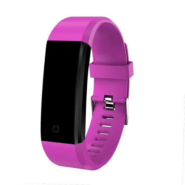 purple - Bracelet Smart Watch Children Watches Kids For Girls Boys Sport Electronic Wristwatch LED Digital Child Wrist Clock Smartwatch
