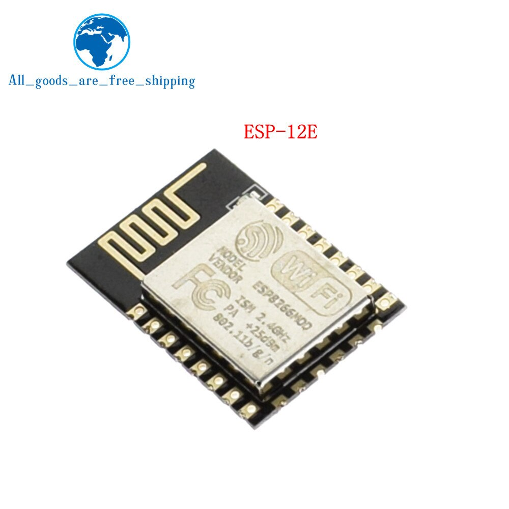 ESP-12E - Wireless module NodeMcu v3 CH340 Lua WIFI Internet of Things development board ESP8266 with pcb Antenna and usb port for Arduino