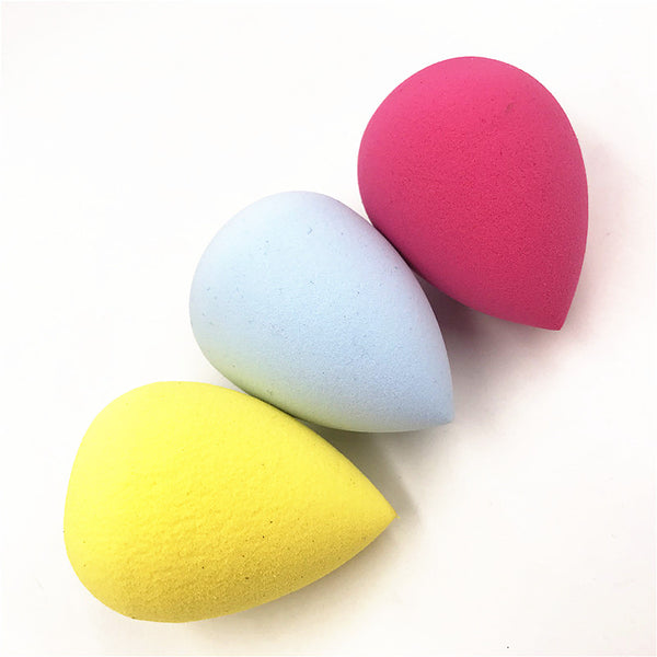[variant_title] - 1pcs Cosmetic Puff Powder Puff Smooth Women's Makeup Foundation Sponge Beauty to Make Up Tools Accessories Water-drop Shape