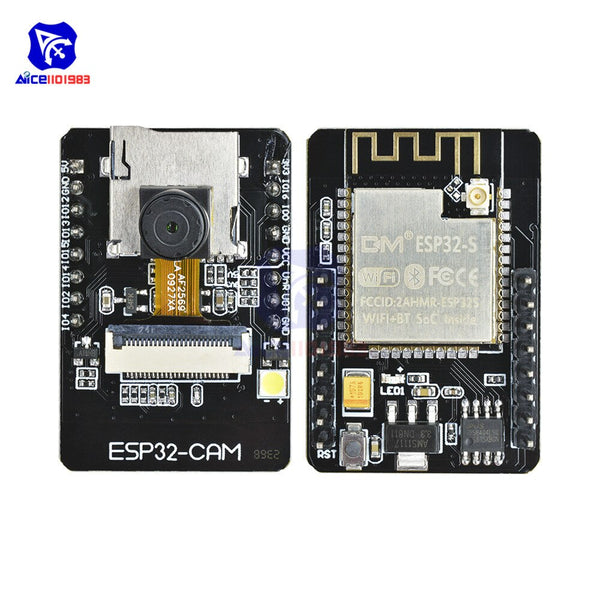 [variant_title] - ESP32-CAM ESP32-S WIFI Bluetooth Expansion Board OV2640 2MP Wireless Camera Module ES8266 ESP32S w/ IPEX Socket for Arduino MCU