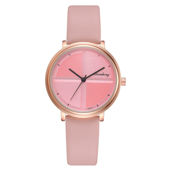 Pink - Exquisite Simple Style Women Watches Small Fashion Quartz Ladies Watch Drop shipping Top Brand Elegant Girl Bracelet Watch