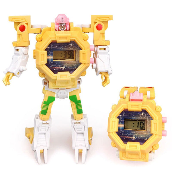 3 - Waterproof Robot Children Watch Toys for Children Birthday Christmas Gift Boys Watches