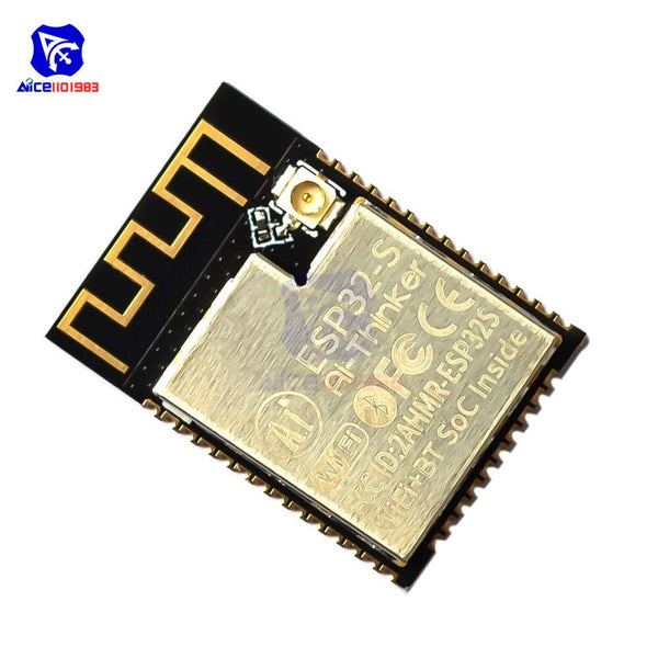 ESP32S Module - ESP32-CAM ESP32-S WIFI Bluetooth Expansion Board OV2640 2MP Wireless Camera Module ES8266 ESP32S w/ IPEX Socket for Arduino MCU