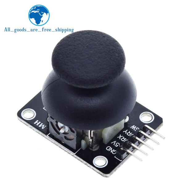 [variant_title] - For Arduino  Dual-axis XY Joystick Module Higher Quality  PS2 Joystick Control Lever Sensor KY-023 Rated 4.9 /5