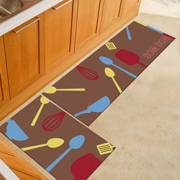 19 / 50x160cm - Kitchen Mat Cheaper Anti-slip Modern Area Rugs Living Room Balcony Bathroom Printed Carpet Doormat Hallway Geometric Bath Mat