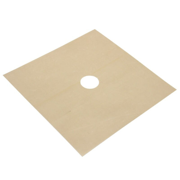 White - 4Pcs Reusable Foil Gas Hob Range Stovetop Burner Protector Liner Cover For Cleaning Kitchen Tools