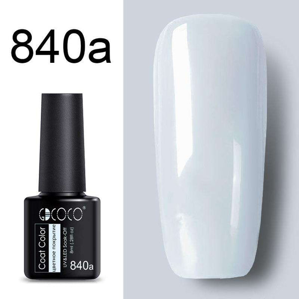 840a - #86102 GDCOCO 2019 New Arrival Primer Gel Varnish Soak Off UV LED Gel Nail Polish Base Coat No Wipe Top Color Gel Polish
