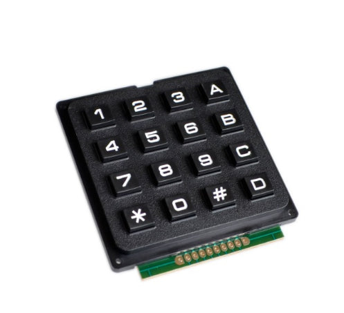 16 - 4x4 3x4 Matrix Keyboard Keypad Module Use Key PIC AVR Stamp Sml 4*4 3*4 Plastic Keys Switch for Arduino Controller