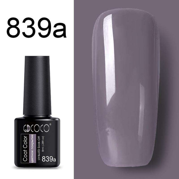 839a - #86102 GDCOCO 2019 New Arrival Primer Gel Varnish Soak Off UV LED Gel Nail Polish Base Coat No Wipe Top Color Gel Polish