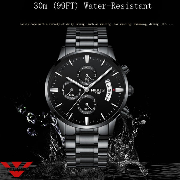 [variant_title] - NIBOSI Relogio Masculino Men Watches Luxury Famous Top Brand Men's Fashion Casual Dress Watch Military Quartz Wristwatches Saat