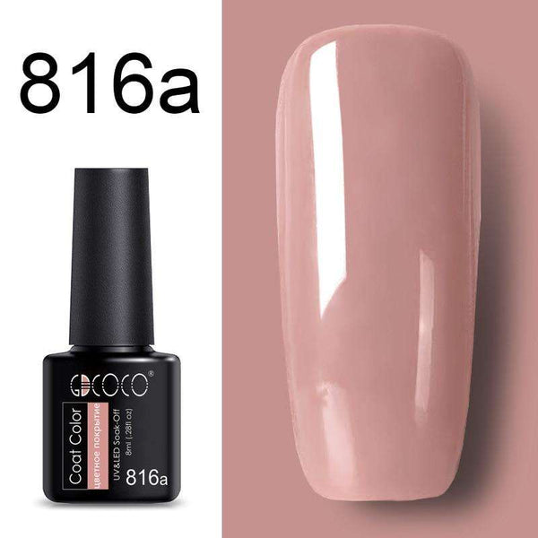 816a - #86102 GDCOCO 2019 New Arrival Primer Gel Varnish Soak Off UV LED Gel Nail Polish Base Coat No Wipe Top Color Gel Polish
