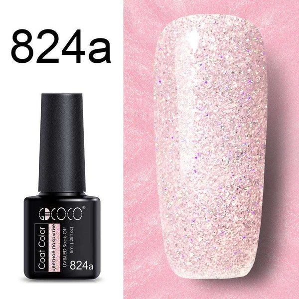 824a - #86102 GDCOCO 2019 New Arrival Primer Gel Varnish Soak Off UV LED Gel Nail Polish Base Coat No Wipe Top Color Gel Polish